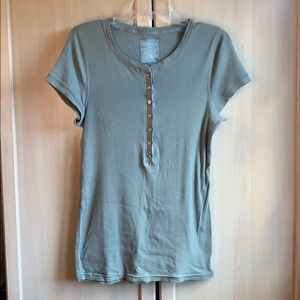 Women's American Eagle Outfitters Green Top